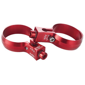 KCNC Seat Post Bottle Cage Clamp Ø30,9mm, red